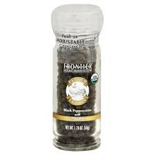 Black Peppercorns w/Garlic, 1.76 OZ, Frontier Natural Products