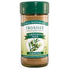 Cardamom Seed, Ground, 2.11 OZ, Frontier Natural Products
