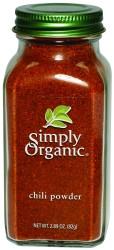 Chili Powder, 6 of 2.89 OZ, Simply Organic