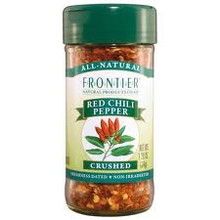 Chili Peppers, Red, Crushed, 1.2 OZ, Frontier Natural Products