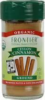Cinnamon, Ceylon, Ground, 1.76 OZ, Frontier Natural Products