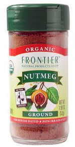 Nutmeg, Ground, 1.90 OZ, Frontier Natural Products