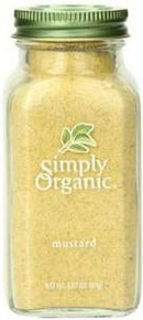 Mustard Seed, Ground, 6 of 3.07 OZ, Simply Organic