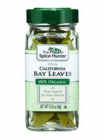 Bay Leaves, California Whole, 6 of 0.14 OZ, Spice Hunter