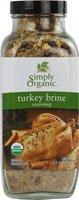 Turkey Brine Seasoning, 6 of 14.1 OZ, Simply Organic