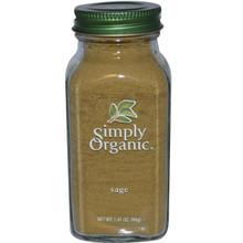 Sage, Ground , 6 of 1.8 OZ, Simply Organic