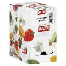 Annato Seed, 12 of 1 OZ, Badia Spices