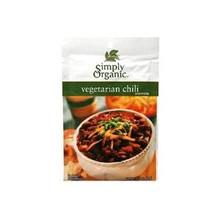 Vegetarian Chili, 12 of 1 OZ, Simply Organic