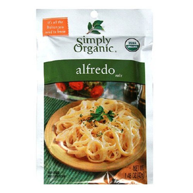 Alfredo, 12 of 1.48 OZ, Simply Organic