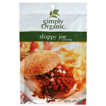 Sloppy Joe, 12 of 1.41 OZ, Simply Organic