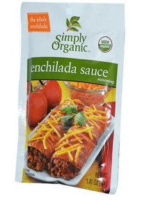 Enchilada Sauce, 12 of 1.41 OZ, Simply Organic