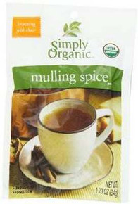 Mulling Spice, 8 of 1.2 OZ, Simply Organic