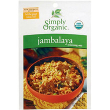 Jambalaya, 12 of 0.74 OZ, Simply Organic