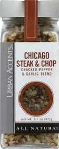 Chicago Steak & Chop, 4 of 3.1 OZ, Urban Accents