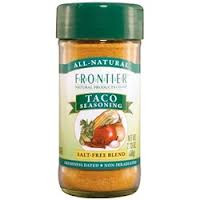 Taco Seasoning, 2.33 OZ, Frontier Natural Products