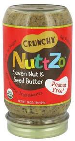 Crunchy, Peanut Free, 6 of 16 OZ, Nuttzo