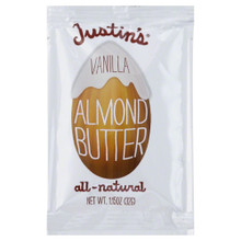 Vanilla Almond Butter, 60 of 1.15OZ, Justin'S