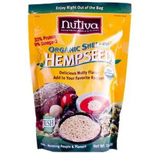 Shelled Hempseed In Pouch, 12 OZ, Nutiva