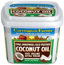 Coconut Oil, Extra Virgin, 6 of 12 OZ, Carrington Farms