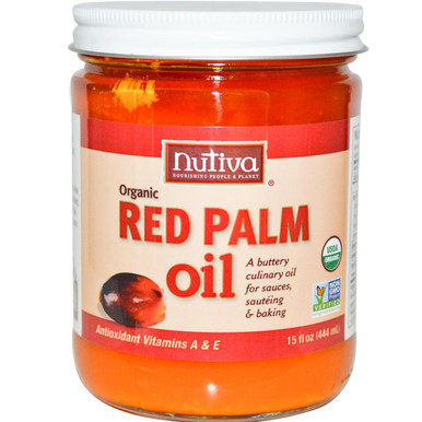 Red Palm Oil, 6 of 15 OZ, Nutiva