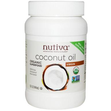 Coconut Oil, 15 OZ, Nutiva