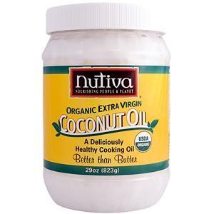 Coconut Oil, 29 OZ, Nutiva