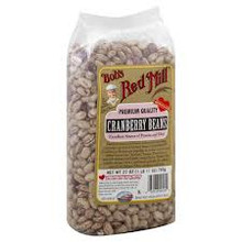 Cranberry Beans, 4 of 27 OZ, Bob'S Red Mill