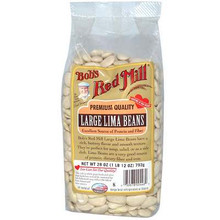 Lima Beans, Large, 4 of 28 OZ, Bob'S Red Mill