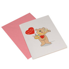 Voice Recordable Bear Gift Card  From AFG