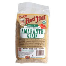 Grain, Amaranth, 4 of 24 OZ, Bob'S Red Mill