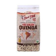 Tri Color Quinoa, Whole Grains, 4 of 16 OZ, Bob'S Red Mill