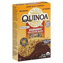 Quinoa, Harmony Tri-Color, 12 of 12 OZ, Ancient Harvest
