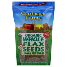 Whole Flax Seeds, 6 of 15 OZ, Carrington Farms