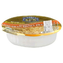 Brown Rice, Long Grain, 12 of 7.4 OZ, Lundberg