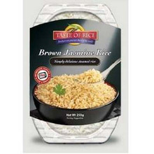 Brown Jasmine Rice, 6 of 8.8 OZ, Taste Of Rice