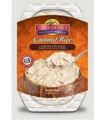 Coconut Rice, 6 of 8.8 OZ, Taste Of Rice