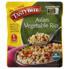 Asian Vegetable Rice, 6 of 8.8 OZ, Tasty Bite