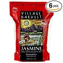 Thai Jasmine, White, 6 of 16 OZ, Village Harvest