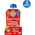 Apple Peach Oatmeal, 12 of 4.2 OZ, Earth'S Best Baby Foods