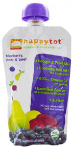 Blueberry, Pear & Beet, 16 of 4.22 OZ, Happy Tots