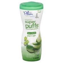 Super Greens-Spinach & Apple, 8 of 1.5 OZ, Plum Organics