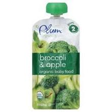 Broccoli Apple, 6 of 4 OZ, Plum Organics