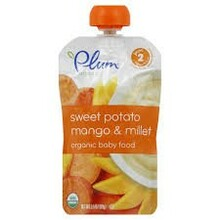 Sweet Potato Mango & Millet, 6 of 3.5 OZ, Plum Organics