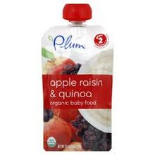 Apple Raisin & Quinoa, 6 of 3.5 OZ, Plum Organics