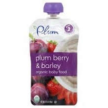 Plum Berry & Barley, 6 of 3.5 OZ, Plum Organics