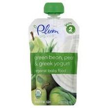 Green Bean & Pear, 6 of 3.5 OZ, Plum Organics