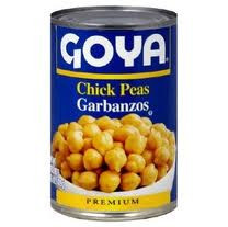 Chick Peas, 24 of 15.5 OZ, Goya
