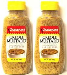 Mustard, Creole Squeeze, 12 of 12 OZ, Zatarains