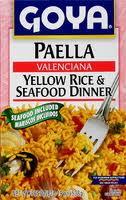 Rice, Seasoned Paella, 14 of 19 OZ, Goya