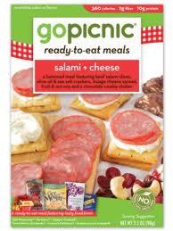 Salami & Cheese, 6 of 3.4 OZ, Gopicnic